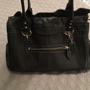 Black Coach Purse/handbag